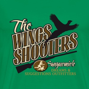 the_wings_shooters T-shirts - Premium-T-shirt herr