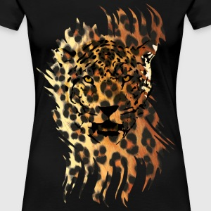 Leopard in Tarnung | Frauen 3XL - Frauen Premium T-Shirt
