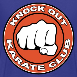 knock out karate club T-Shirts - Männer Premium T-Shirt