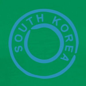 Bottlegreen Corée du Sud - south korea T-Shirts - Men's Premium T-Shirt