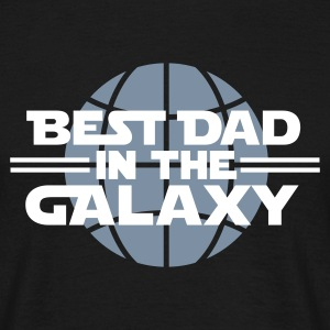 Best dad in the galaxy T-shirts - Mannen T-shirt