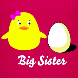 big_sister_chick T-Shirts - Teenager Premium T-Shirt