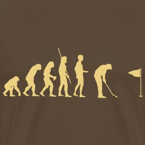 Evolution Golf T-shirts - Herre premium T-shirt