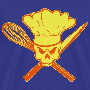 Cook Pirat or Cook Rebell skull T-shirts - Premium-T-shirt herr