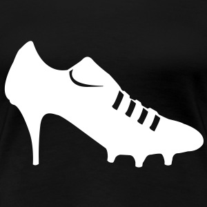 Women soccer shoes  T-Shirts - Women's Premium T-Shirt