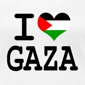 i love Gaza T-Shirts - Frauen Premium T-Shirt