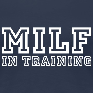 milf in training T-Shirts - Women's Premium T-Shirt
