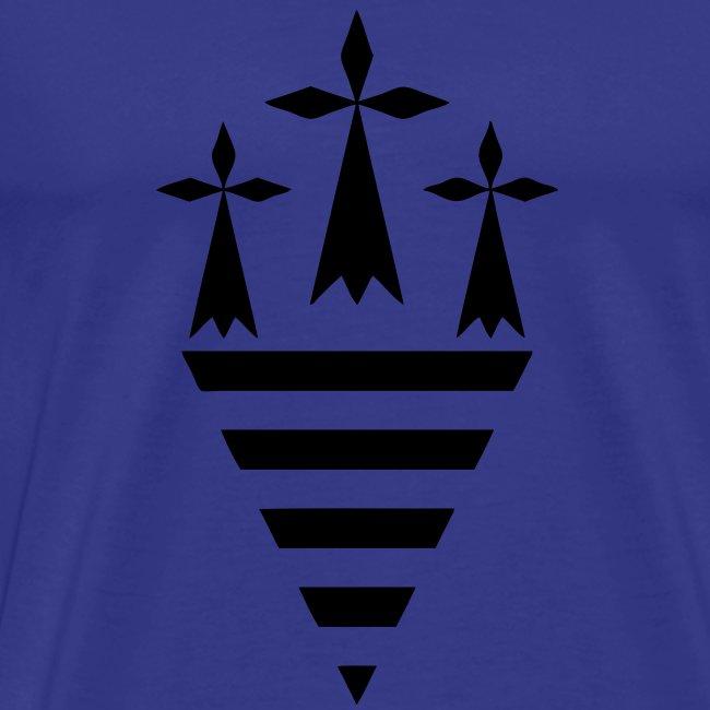 T-Shirt Triangle Breton  Homme