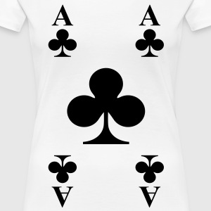 ace of clubs T-Shirts - Frauen Premium T-Shirt
