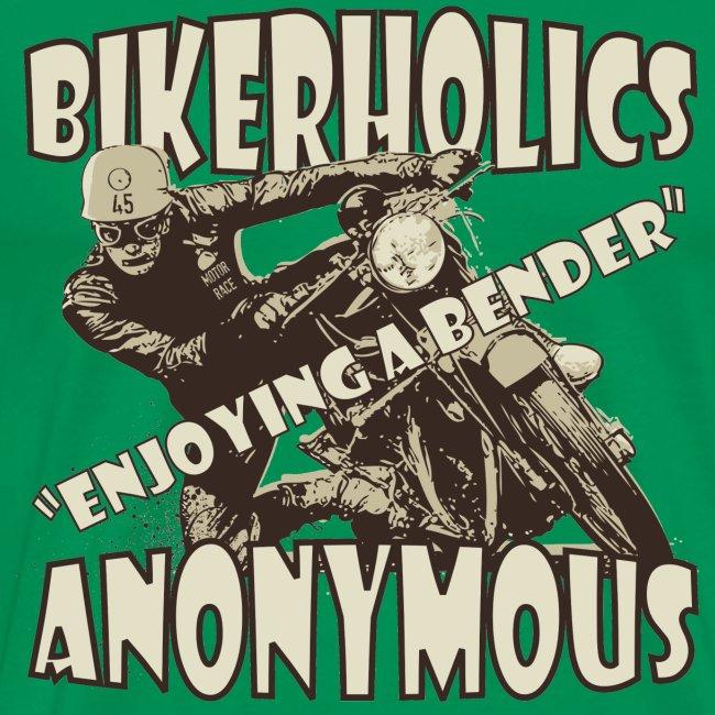 Enjoying a bender biker t-shirt
