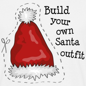 Build your own santa outfit Magliette - Maglietta da uomo