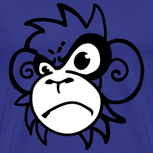 monkey_angry T-Shirts - Men's Premium T-Shirt