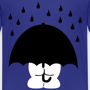 umbrella paraply T-shirts - Børne premium T-shirt
