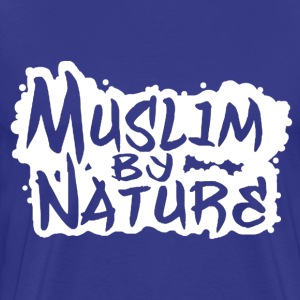 Muslim by Nature in Weiß T-Shirts - Männer Premium T-Shirt
