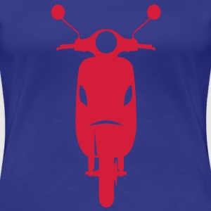 Scooters Scooters Front  Camisetas - Camiseta premium mujer