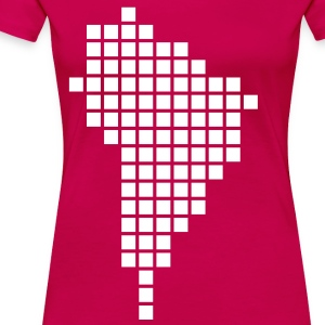 Ruby red South America T-Shirts - Women's Premium T-Shirt