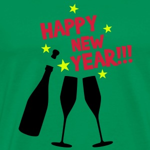 Happy new year T-Shirts - Maglietta Premium da uomo