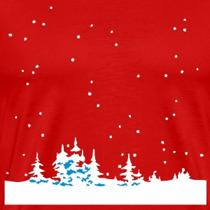 Christmas Winter Wonder Land T-shirt - Maglietta Premium da uomo