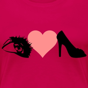 eye love shoes - Women's Premium T-Shirt