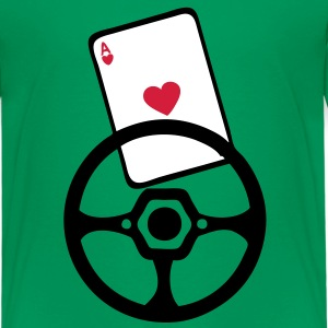 as carte volant wheel rad poker Tee shirts - T-shirt Premium Enfant