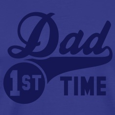 1st (first) TIME Dad T-Shirt NS