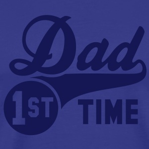 1st (first) TIME Dad T-Shirt NS - Men's Premium T-Shirt