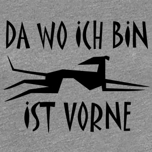 Windhund T-Shirts - Frauen Premium T-Shirt