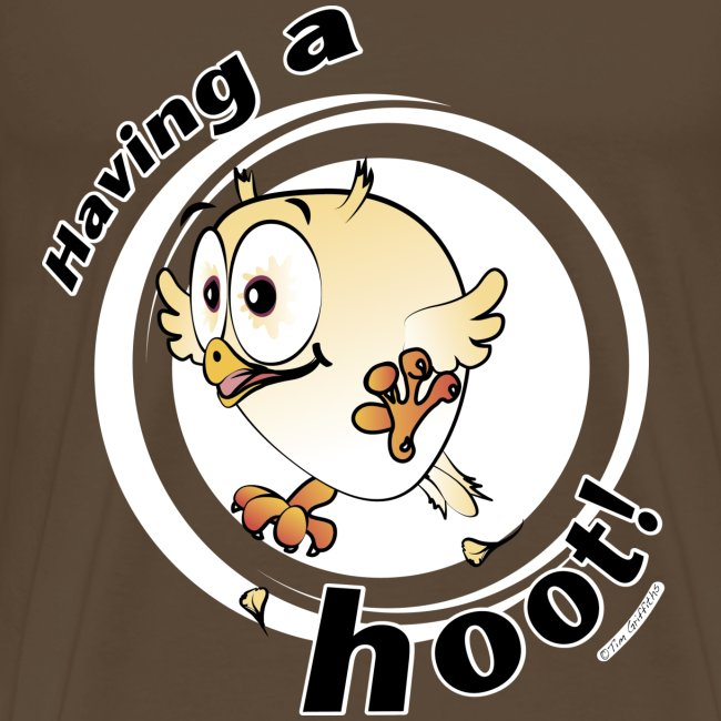 Having a hoot! (brown)