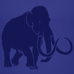 mammoth elephant stone age cave hunter outdoor Shirts - Teenage Premium T-Shirt