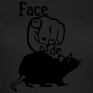 rat face doigt pointe expression1 Tee shirts - T-shirt Femme