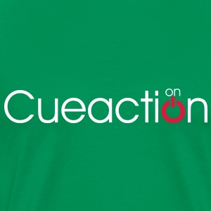 cueaction mode on - Männer Premium T-Shirt
