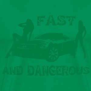 fast and dangerous T-Shirts - Men's Premium T-Shirt