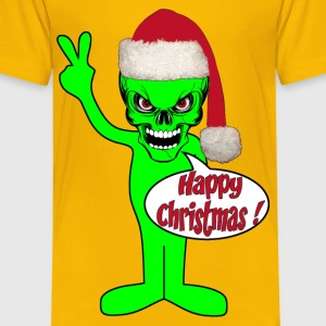 happy christmas alien Tee shirts - T-shirt Premium Enfant