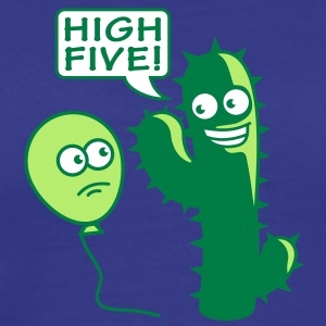 cactus_high_five T-Shirts - Men's Premium T-Shirt