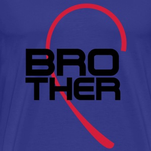 Brother Bror 2c T-skjorter - Premium T-skjorte for menn