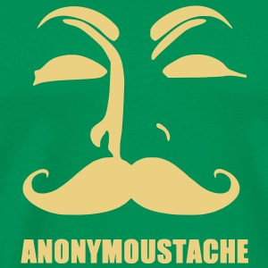 anonymoustache T-Shirts - Men's Premium T-Shirt