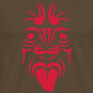 masque maori tribal tattoo11 ethnique Tee shirts - T-shirt Premium Homme