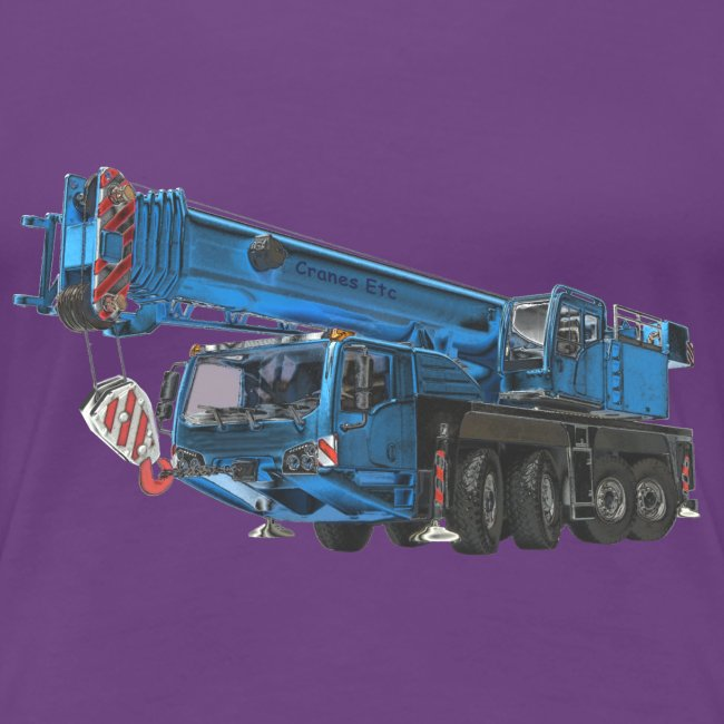 Mobile Crane 4-axle - Blue