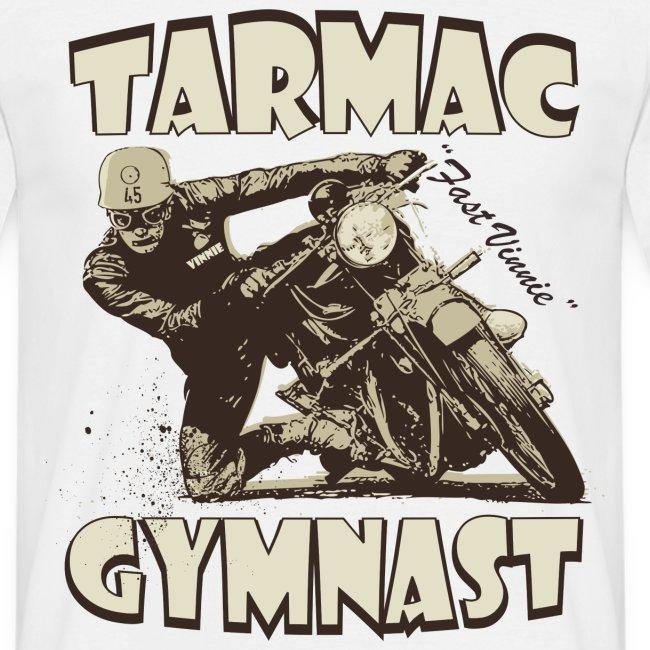 Tarmac Gymnast biker t-shirt