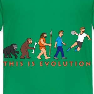 evolution_handball_comic_122012_c T-Shirts - Kinder Premium T-Shirt
