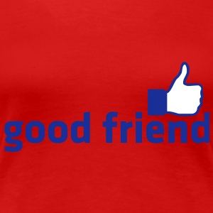 good friend / Daumen hoch | Frauen 3XL - Frauen Premium T-Shirt