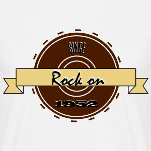 Rock on! Since 1952 3c rock´n roll  Camisetas - Camiseta hombre