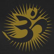 Motiv ~ OM 3D gold - T-Shirt