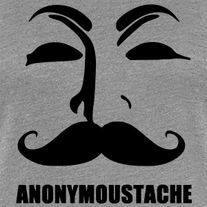 anonymoustache T-Shirts - Women's Premium T-Shirt
