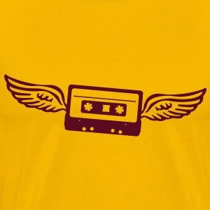 Cassettes angel  T-Shirts - Men's Premium T-Shirt