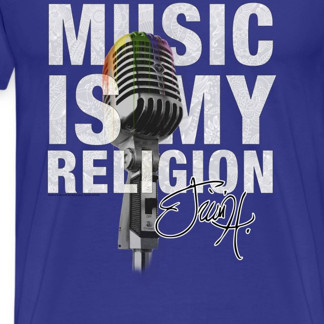 Music Is My Religion - T-Shirt