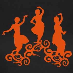 danse indienne indou4 india orientales Tee shirts - T-shirt Femme
