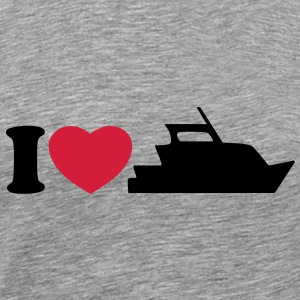 I love my yacht T-Shirts - Men's Premium T-Shirt