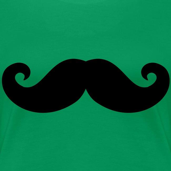 Tee Shirt Moustaches femme
