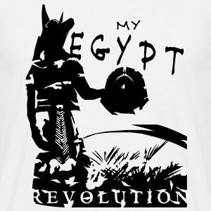 my_egypt_revolution_vec_1 T-Shirts - Men's T-Shirt